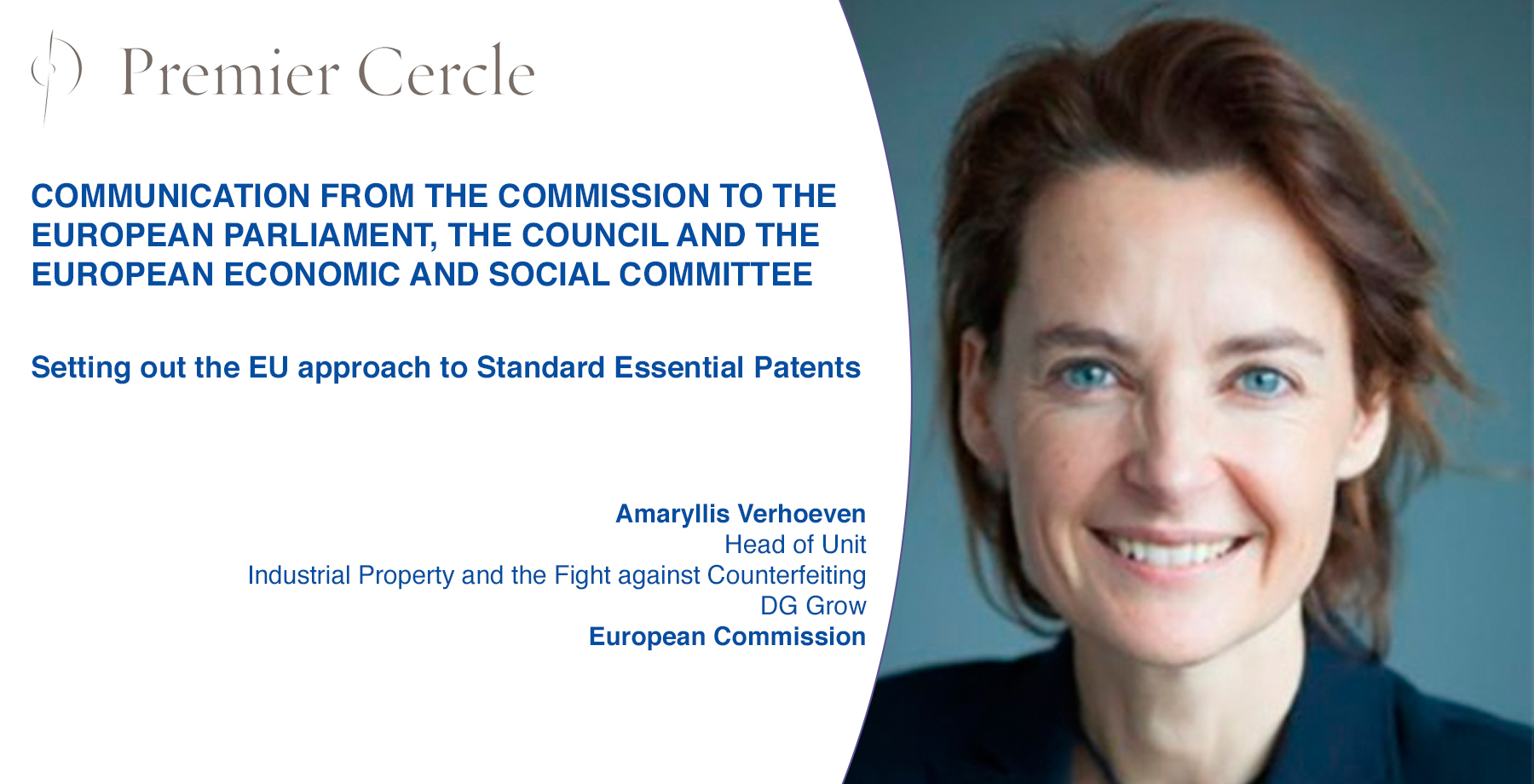 Setting out the EU approach to Standard Essential Patents