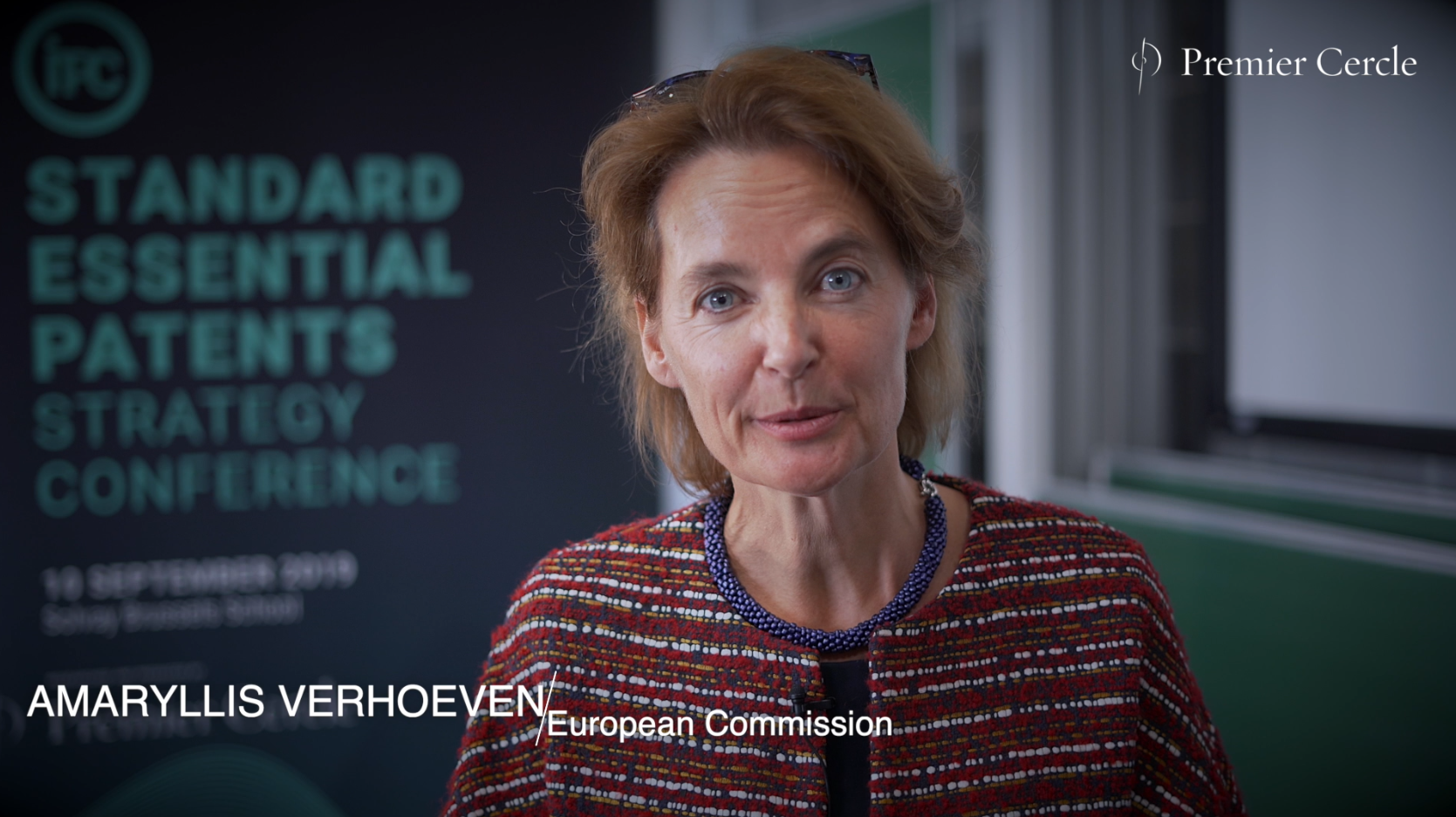 Amaryllis Verhoeven, from the European Commission interviewed by Premier Cercle
