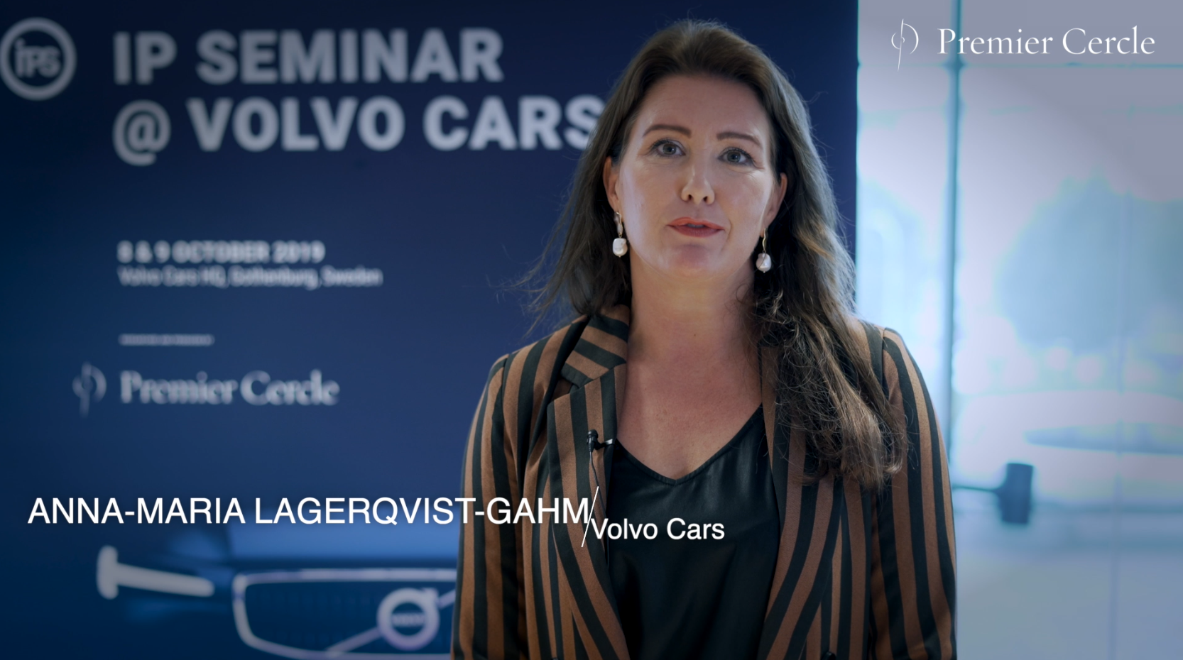 Anna-Maria Lagerqvist-Gahm from Volvo Cars interviewed by Premier Cercle