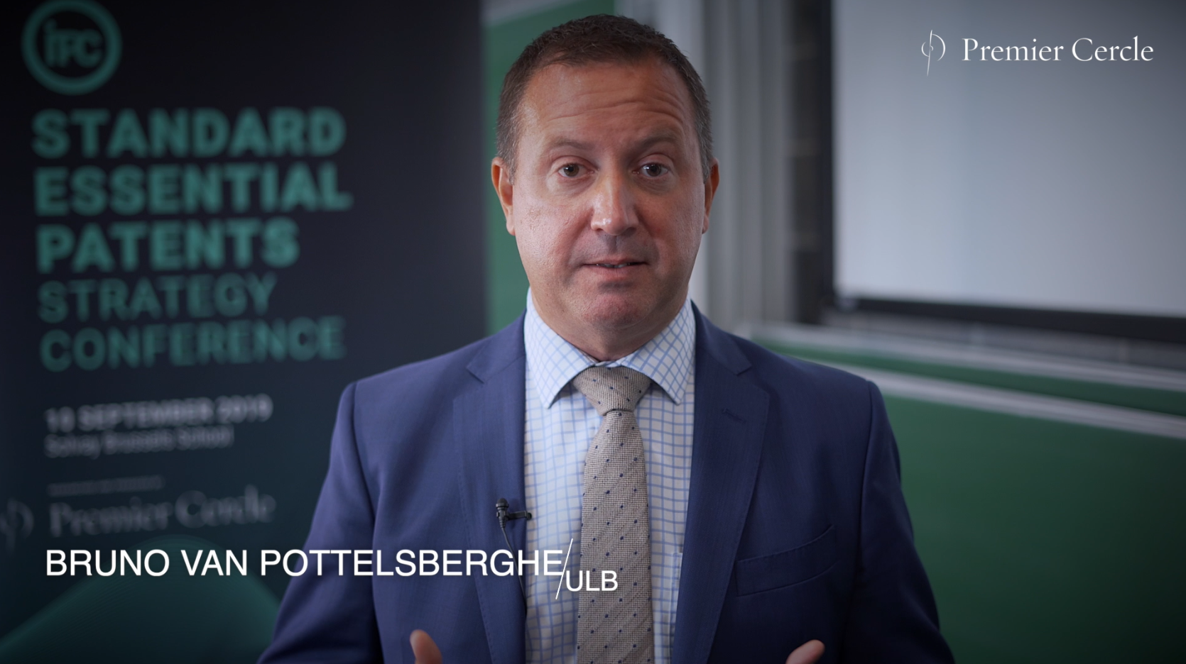 Bruno van Pottelsberghe, Interviewed by Premier Cercle Part 1