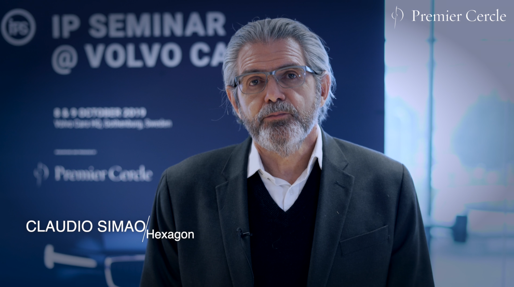 Claudio Simao from Hexagon interviewed by Premier Cercle