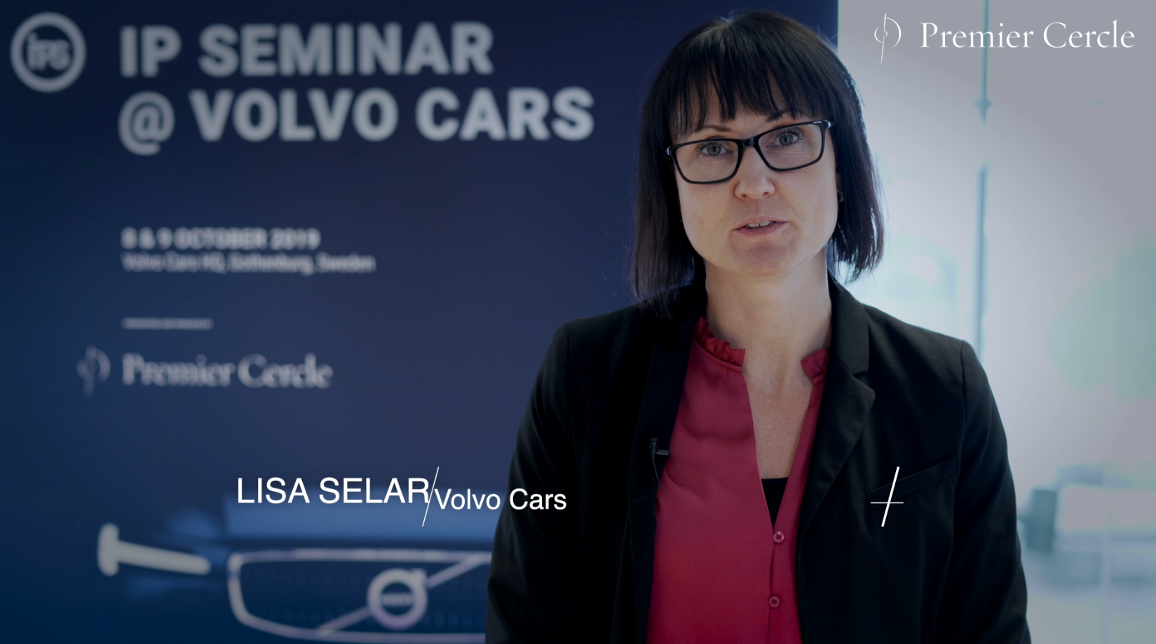 Lisa Selar, Senior Trademark and Design Counsel at Volvo Cars interviewed by Premier Cercle