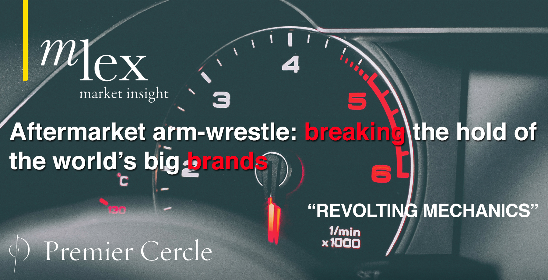Aftermarket arm-wrestle: breaking the hold of the world's big brands