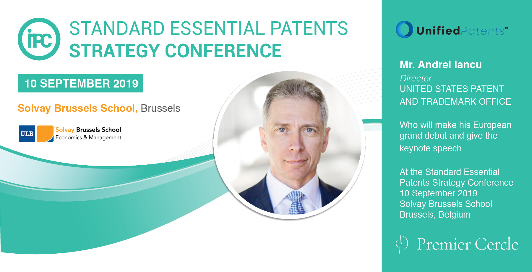 Andrei Iancu Director UNITED STATES PATENT AND TRADEMARK OFFICE