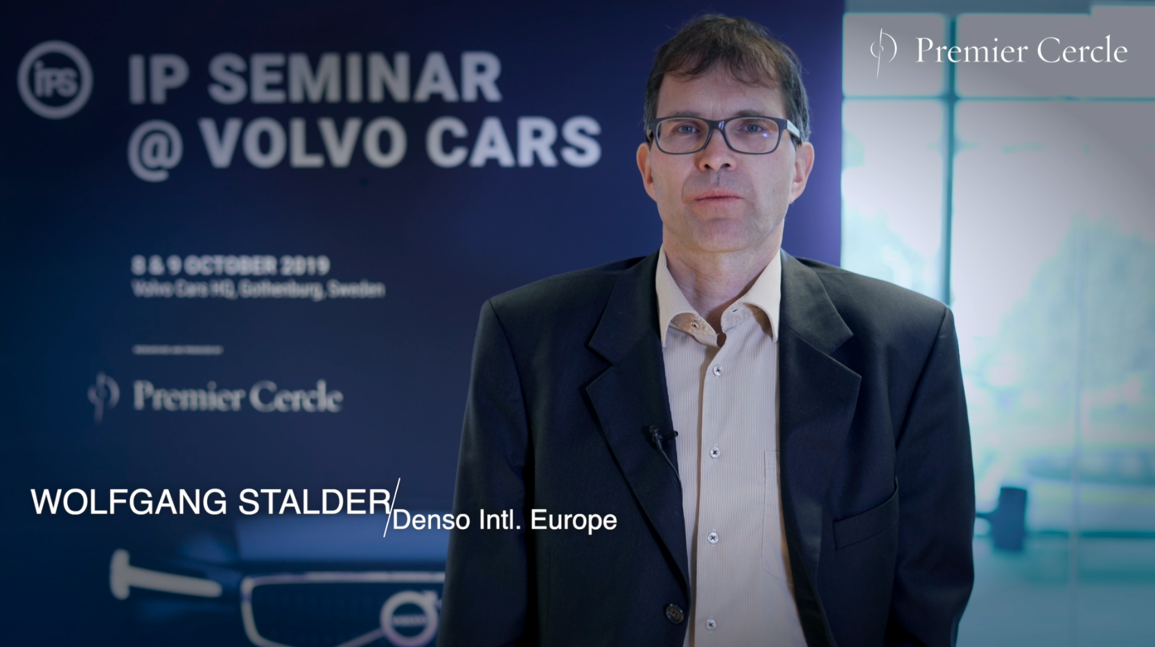 Wolfgang Stalder from DENSO International Europe interviewed by Premier Cercle
